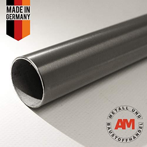 200 cm tubo 16 x 2,0 acero inoxidable v2a k240 tubo de acero inoxidable