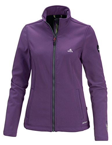 OCK Damen Softshelljacken, Lila, 40