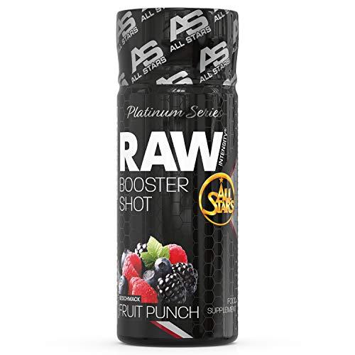 ALL STARS Raw Intensity Booster Shot, 16 x 60 ml Shots (Fruit Punch)