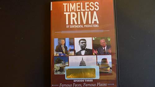 Timeless Trivia: Episode Three - Famous Faces, Famous Places