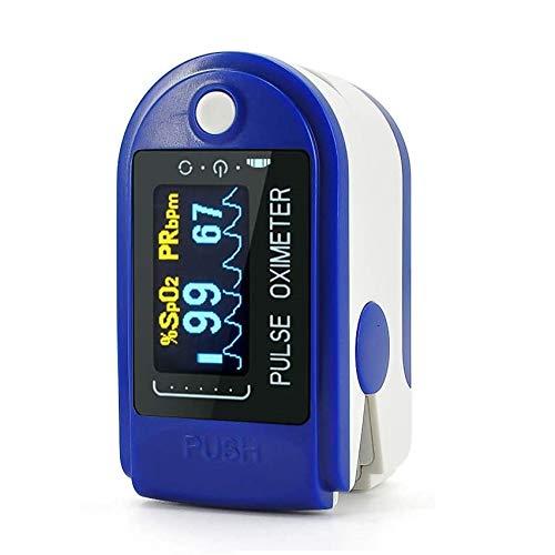 Pulse Oximeter, Finger Pulse Oximeter with OLED Display, Pulse Oximeter Fingertip, Blood Oxygen Saturation Monitor Finger, Heart Rate Monitor for Adult Child