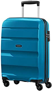 American Tourister - Bon Air - Spinner Equipaje de mano 55 cm, 32 L, Azul (Seaport Blue)