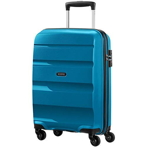 American Tourister Bon Air Spinner Bagaglio a Mano 55 Cm, 31.5 L, Blu (Seaport Blue)