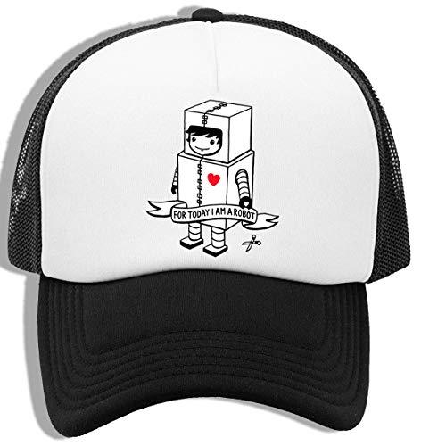 Luxogo For Today I Am A Robot Gorra De Béisbol Unisex Baseball Snapback Cap