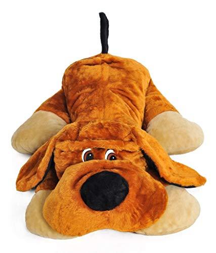 XXL Hund Teddybär Plüsch Kuschel Stoff Plüsch Riesen Teddy Bär 110 cm Groß