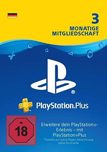 PlayStation Plus Mitgliedschaft | 3 Monate | deutsches Konto | PS5/PS4/PS3 Download Code