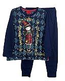 Santoro Gorjuss Pijama de 2 piezas, camiseta + pantalón de algodón Otoño/Invierno, original y auténtico, ideal para niña/niña, en bonita caja de regalo (54669, 14 años)
