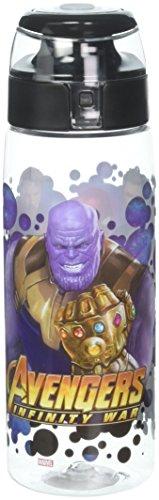 Zak Designs AVNY-K950 Reusable Plastic Water Bottle, 0, Avengers: Infinity War