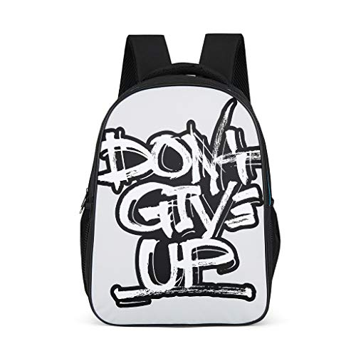 Unisex Backpack Travel Camping Daypacks Casual Daypacks 3D Cartoon Patterns Shoulder Bags High-grade Materials Teenage Bags For School Backpack grey onesize