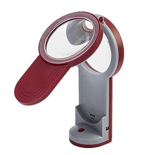 WOAIWOJIA Magnifier lenzen van het type 3x4.5 x 6 Multiple kunnen op het bureau worden gebruikt met inklapbare draagbare handloepschilderij en identificatie-bio-observatie-experiment