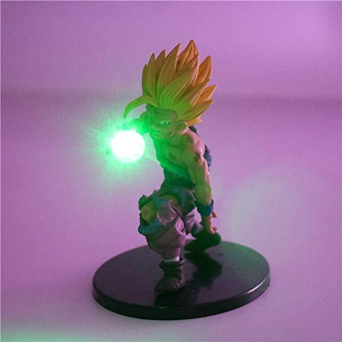 LGQC Dragon Ball Super Lámpara Goku Vegeta Kamehameha