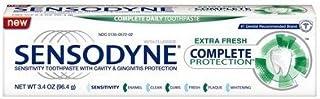 Sensodyne Complete Protection Toothpaste, Extra Fresh 3.4oz. Per Tube (2 Pack)
