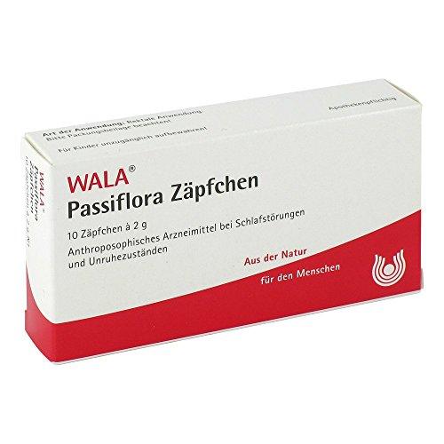 WALA Passiflora Zäpfchen, 10 St. Zäpfchen