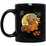 Trick R Treat Sam -Black 11 oz Coffee Mug Cup