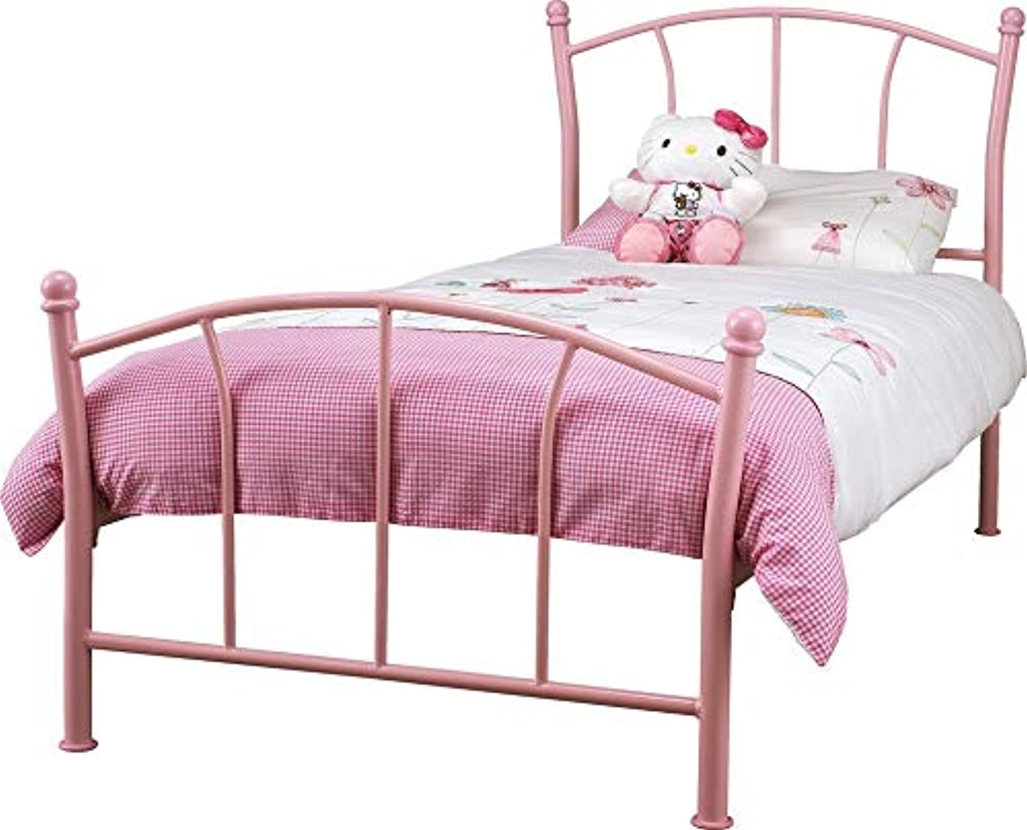Kiddie Home Space Durable Encounter Bay Single Bed (Pink)