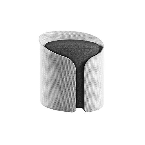 LIRONGXILY Vanity Stool Chair Dressing Chair Makeup Dressing Footstool Shoes Bench Sofa Bench Fabric Cylindrical Pier Mini Bedroom Sofa Pedal Mini Bench (Color : #3)