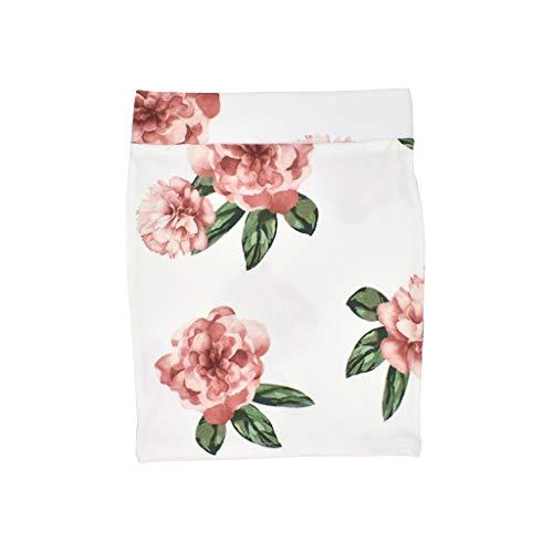 Kleid Maedchen Sommer Floral Plaid gedruckt Bleistift Hip Rock Kleidung