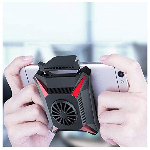 JZH-Light Universele telefoonkoeler, watergekoelde koeler, accessoire voor mobiele telefoon voor koele telefoontemperaturen, glad speelbreedte 62-85 mm