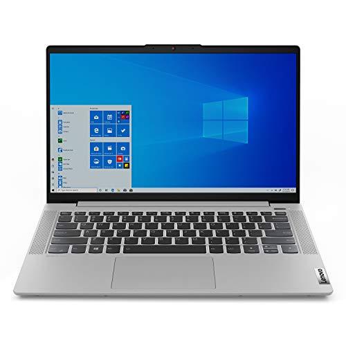 "Lenovo IdeaPad 5 14.0"" Laptop, Intel Core i5-1035G1 Quad-Core Processor, 8GB Memory ,256GB Solid State Drive, Windows 10 - Platinum Grey - 81YH0017US - Renewed"