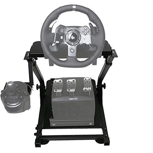VEVOR G920 Lenkradständer für Logitech G27 G25 G29 und G920 Lenkrad mit V2 Support Spiel Support Nur Rad Unterstützung