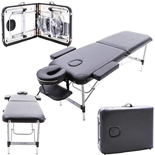 Table de Massage Cosmétique Lit de Massage Pliante Professionnel Portable Ergonomique table Canapé...