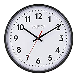 LaCrosse 404-2636-INT 13-Inch Info-Tech Commercial Analog Wall Clock