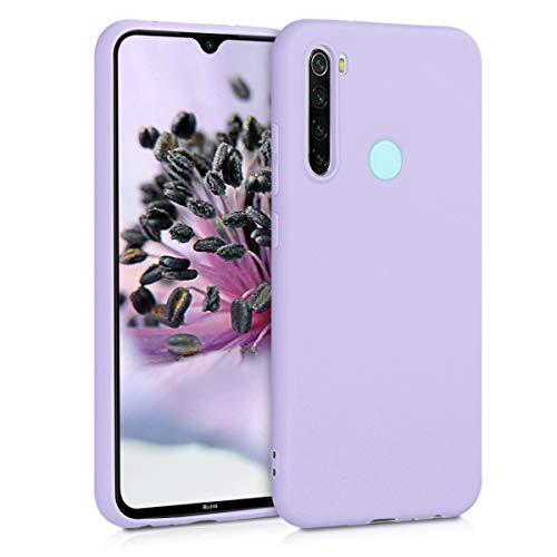 kwmobile Hülle kompatibel mit Xiaomi Redmi Note 8 (2019/2021) - Hülle Handyhülle - Handy Hülle in Lavendel