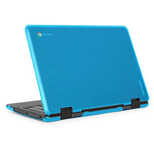 mCover Hard Shell Case for 2019 11.6' Lenovo 300E (2nd Gen.) 2-in-1 Chromebook Laptop (NOT Fitting Lenovo 300E Windows & N21 / N22 / N23 /100E / 500E Chromebook) (Aqua)