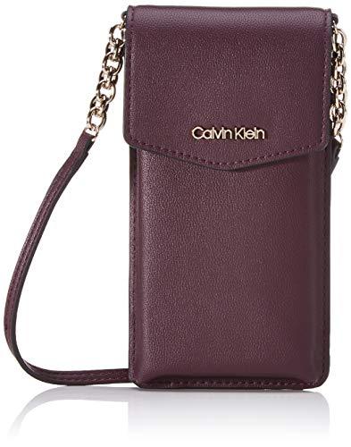 Calvin Klein - Chained Phone Pouch, Organizadores de bolso Mujer,...
