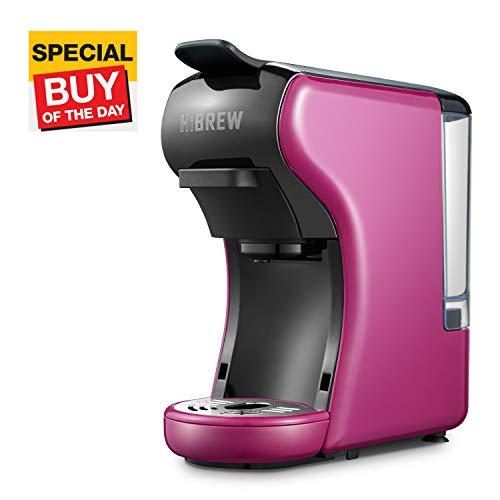 HiBREW 2-in-1 Compact Multi-Function Mini Espresso Coffee Maker Espresso Machine...
