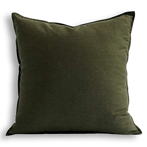 Jeanerlor Solid Cotton Linen Decoration 18