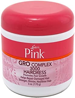 Luster's Pink Creme Hairdress Gro Complex 3000 6 oz. (Pack of 3) by Lusters