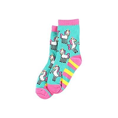 Lazy One calcetines de unicornio para niños/niñas Multicolor multicolor 2-4 Años
