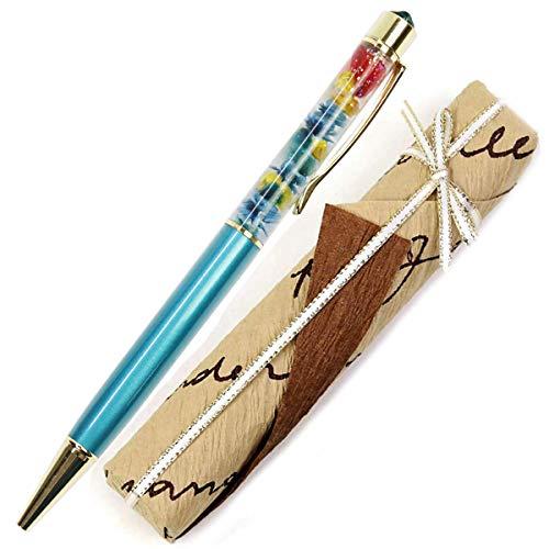 【ギフトラッピング済み】 ハーバリウムボールペン スワロフスキー ボールペン 名入れ 誕生石 イメージ ハーバリウム ペン かわいい ギフト 誕生日 花 プリザーブドフラワー 卒業 記念 プレゼント 女性 Aliceflower リトルマーメイド 母の日