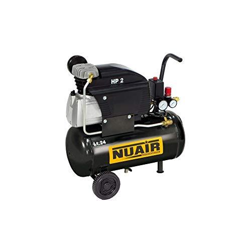 Compressore Elettrico Carrellato Nuair Fc2 24 Litri 2 Hp