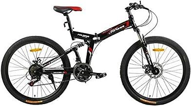 Fitness Minutes Folding Bike, Black, FM-F26-04S-BK