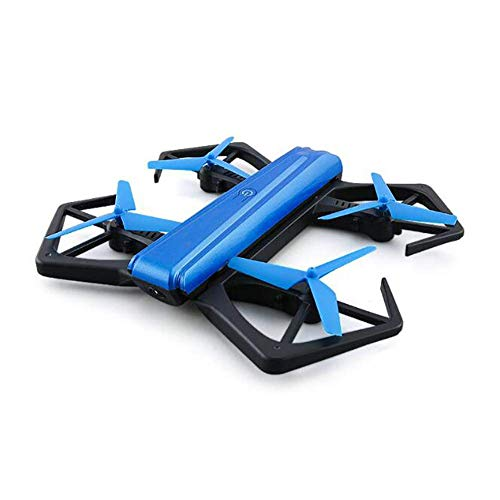 Mini WiFi RC Quadcopter met HD Camera Foldable LuchtFotografie FPV Drone Altitude Hold 3D Flip Flying Toy met Protection for Boys Gift lili