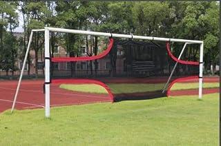 Dioche Red Fútbol Portería, 3 x 2m, 5 x 2m, 7 x 2.2m Juego de Exterior de Portería de Fútbol,Red de Fútbol para Redes de Rebote para Entrenamiento Meta de Fútbol