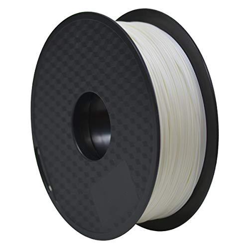 GEEETECH ABS Filament 1.75mm Weiß, Drucker 3d Filaments 1KG 1 Spool