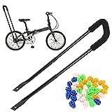 Lite-On Children Study Cycling Safety Balance Push Bar LT Cycling Bike Safety Trainer Handle Balance Push Bar[Black]