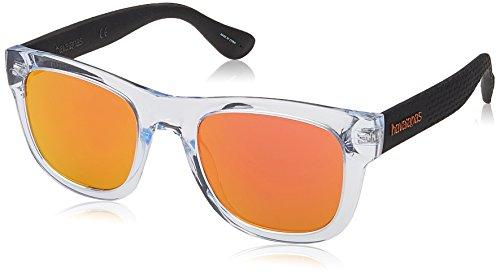 Havaianas - PARATY/L - Occhiali da sole Uomo Rettangolare - Materiale leggero - 100% UV protection - Custodia protettiva inclusa
