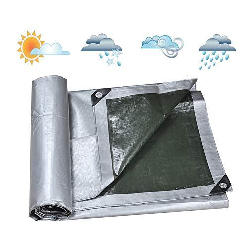 BAIYING Lonas Impermeables Exterior Pérgola Protector Solar Espesamiento Tela Impermeable Punzón De...