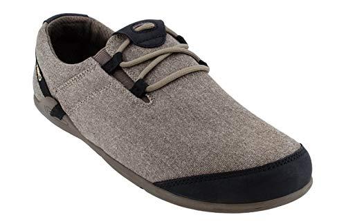 Xero Shoes Hana - Men's Casual Canvas Barefoot-Inspired Shoe - Carob