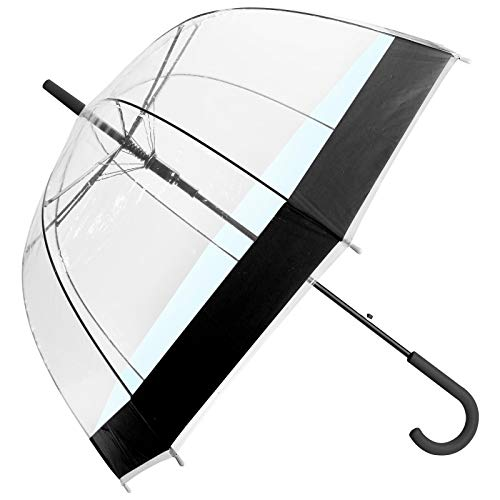 ASAB Clear Dome See Through Umbrella - Windproof Automatic - Strong,...