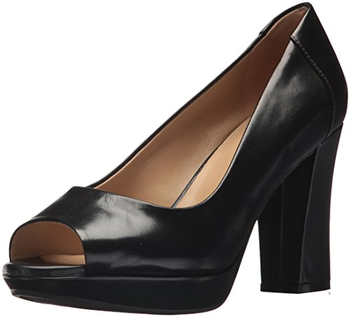 Naturalizer Women's AMIE Pump, Black, 7.5 M US
