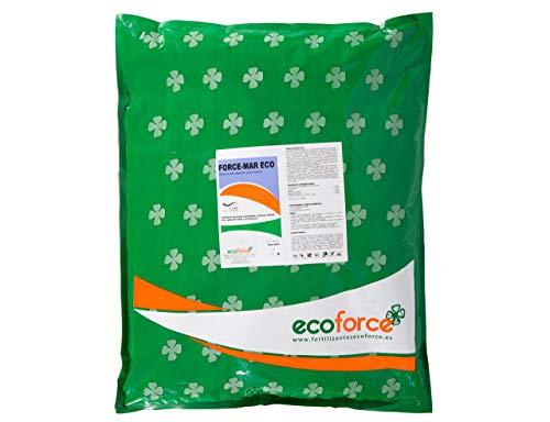 CULTIVERS Force-Mar Eco 5 Kg. Abono Orgánico Ecológico 100% Algas Marinas polvo soluble. Extracto de algas 100%. Fertilizante Bioactivador a base de extractos de Ascophyllum nodosum.