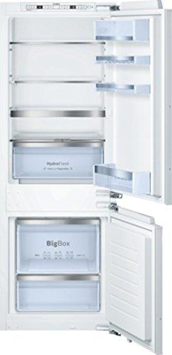 Bosch KIS77AD30 Einbau-Kühl-Gefrier-Kombination/A++ / Kühlen: 111 L/Gefrieren: 61 L/Weiß/Super Gefrieren/Big Box