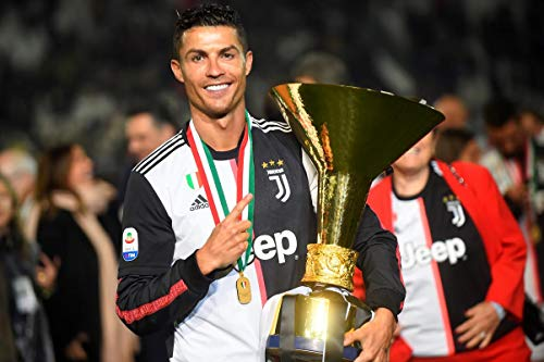 Juventus FC 18//19 Poster Plakat Drucken Bild Print Cristiano Ronaldo 30CM X 43CM F.C Serie A Champion