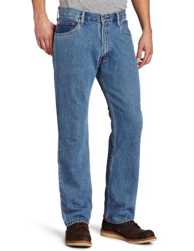 Levi's Men's Big & Tall 505 Regular Fit Jeans, Medium Stonewash, 38W x 38L