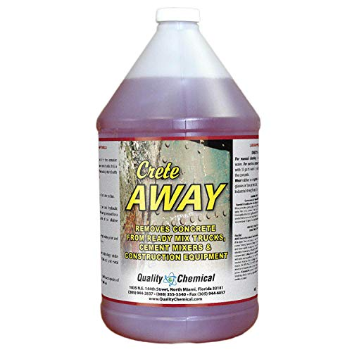 Crete Away Concrete Remover from trucks, mixers and construction equipment.-1 gallon (128 oz.)